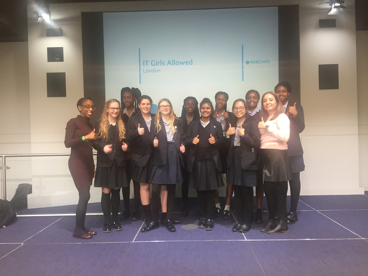 Barclays Event: IT Girls Allowed!