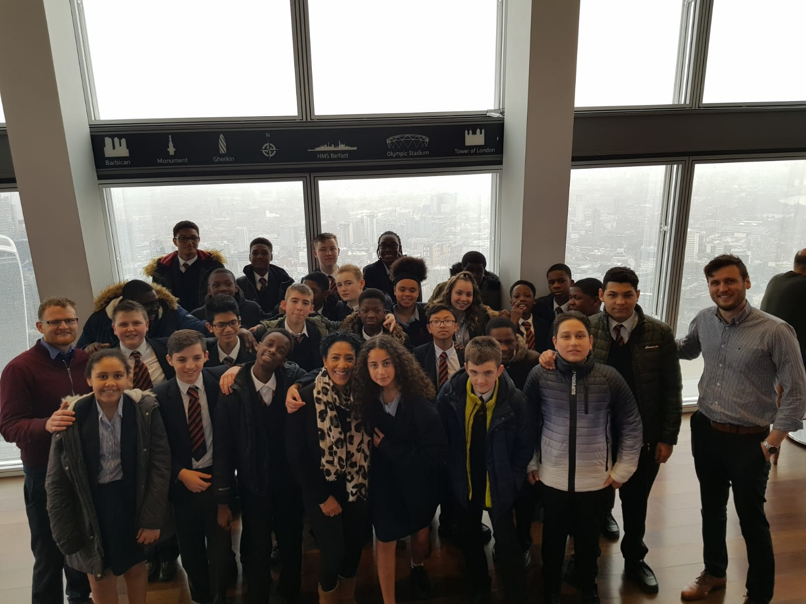 Year 9 visit The Shard